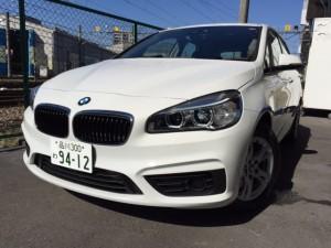 BMW 218i アクティブツアラー